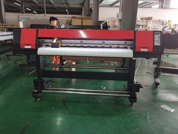 Digital Eco Solvent Printer Printing Outdoors Application
