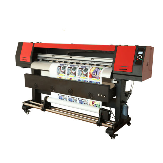 Automatic Large Format Inkjet Eco Solvent Printer with Exterior Fan